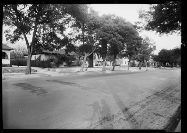 East Orange Grove Boulevard and North Madison Avenue, Pasadena, CA, 1932