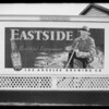 Billboards, Pacific Outdoor Advertising, Southern California, 1935