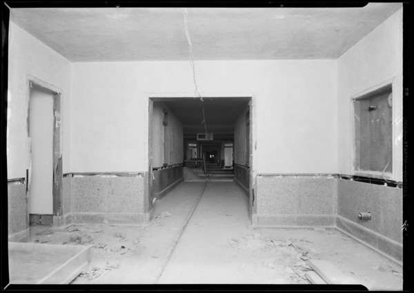 County Hospital, Grassi Co., Los Angeles, CA, 1932