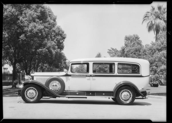 Ambulance - B.E. Dayton Inc., Southern California, 1932
