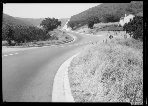 Beverly Glen Boulevard and Knobhill Drive, Bel Air, Testa vs. Fritz, Sherman Oaks, CA, 1932