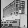 California Consumer Building from South Grand Avenue & West Jefferson Boulevard, Los Angeles, CA, 1932