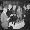 Tests on Brown Derby beer, Southern California, 1935