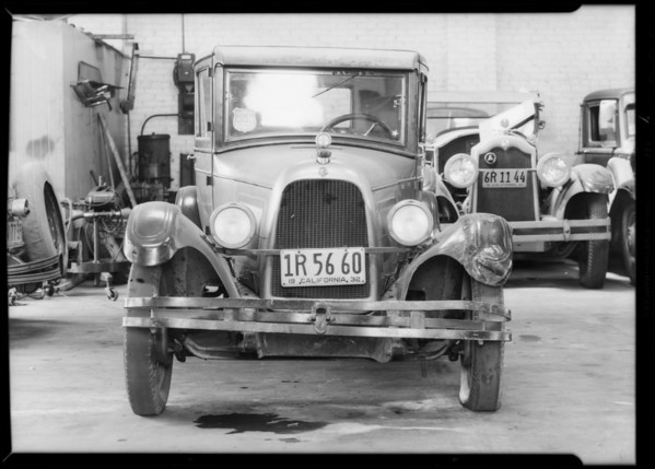 Willys sedan, Bauer, assured, Southern California, 1932