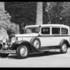 Ambulance - B.E. Dayton Inc., Southern California, 1932