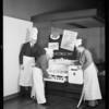 Electrochef publicity, Southern California, 1932