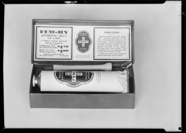 Hygienic sets, Southern California, 1932