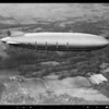 Zeppelin and tire & zeppelin composite, Southern California, 1932