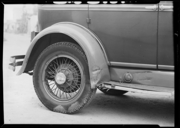 Moon sedan, Studebaker sedan, Myers assured, Southern California, 1932