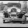 Marmon sedan - Mrs. Hoff, owner, Southern California, 1932