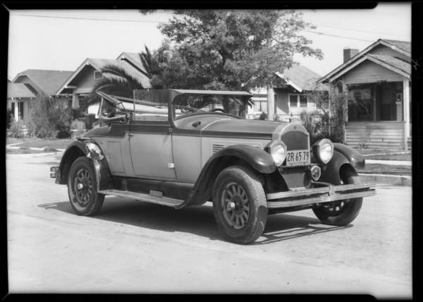 Marsh, Willys-Knight, Palms, Los Angeles, CA, 1932