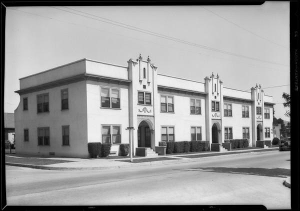 Apartment, 972 North El Centro Avenue, Los Angeles, CA, 1927