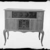 Radio cabinets, Tansay Radio Cabinet Co., Southern  California, 1924