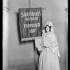 San Rafael Mission play, opening, Southern California, 1927