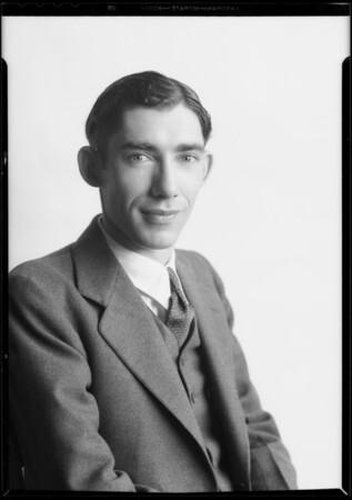 Portrait, Southern California, 1933
