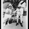 Mr. and Mrs. Bain at La Lomita Rancho, Lomita, CA, 1927