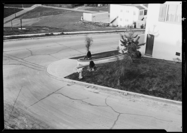 Intersection of St. George Street & Ronda Vista Drive, Los Angeles, CA, 1932