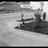 Intersection of St. George Street & Ronda Vista Drive, Los Angeles, CA, 1932