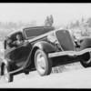 Hill climb in Glendale with Sam Palmer, Glendale, CA, 1934