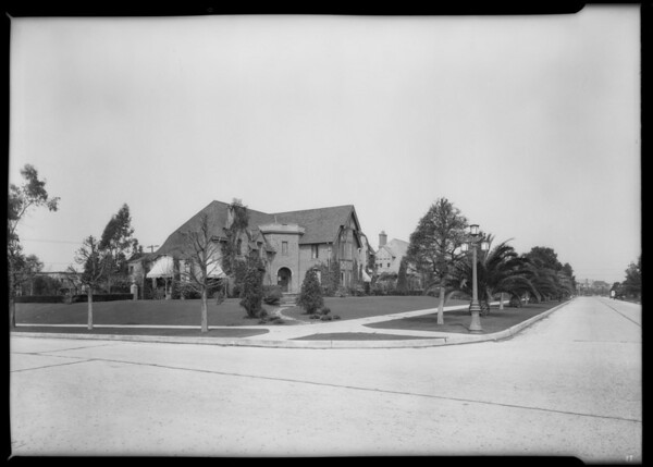 Santa Monica homes, Southern California, 1926