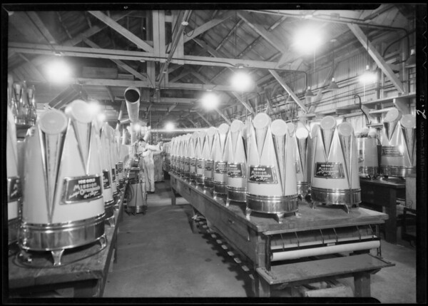 Dispenser, assembly department, Southern California, 1932