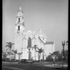 Churches on Adams and Grauman's Chinese Theater, Los Angeles, CA, 1928