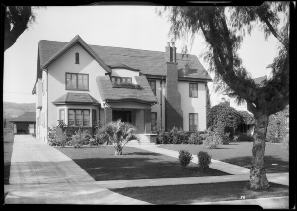 Houses, Southern California, 1925
