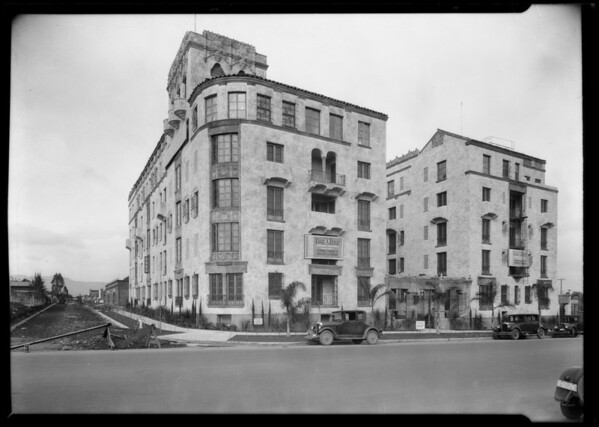 Los Altos Apartments, Southern California, 1926