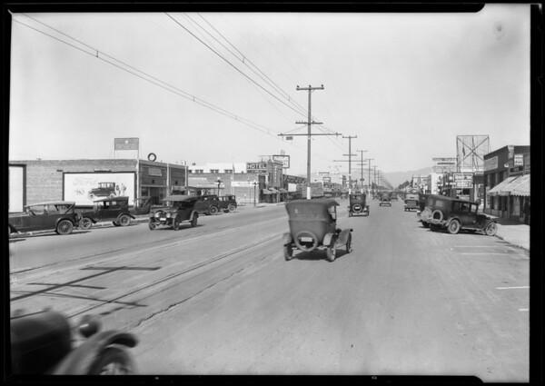 Scenes in Van Nuys, Los Angeles, CA, 1926