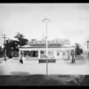 Pan American service station, Southern California, 1925