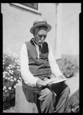 Mr. Jackman Johnson, Union Pacific engineer, Long Beach, CA, 1926