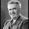 Portrait of himself, Albert E. Sherman, Southern California, 1934