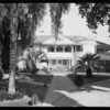 Holther's home, Southern California, 1927