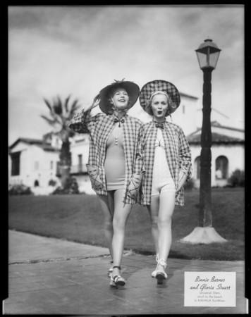 Movie stars, Southern California, 1936