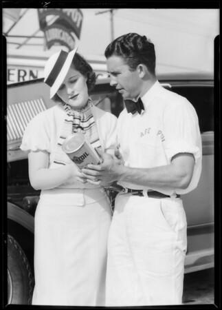 """""""Safespot"""" publicity, Southern California, 1933"""