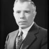 Portrait of self, Mr. James Davidson, Southern California, 1934
