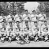 Baseball team, Ivanhoe Knights, Southern California, 1931