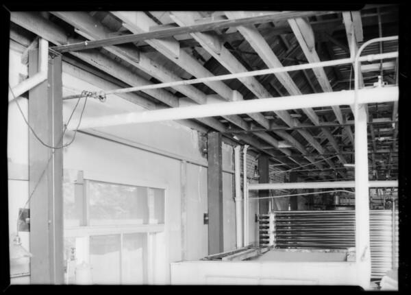 Wall construction, 1045 South Wall Street, Los Angeles, CA, 1934