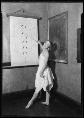 McAdam dancing school, Southern California, 1927