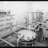 Views of bottling plant in Carbon Canyon, Southern California, 1933