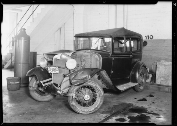 1930 Ford coach, File #248109, Southern California, 1931