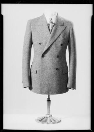 Men's merchandise, Southern California, 1934