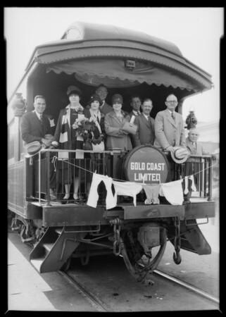 Union Pacific Railroad Laundry Convention, Southern California, 1927
