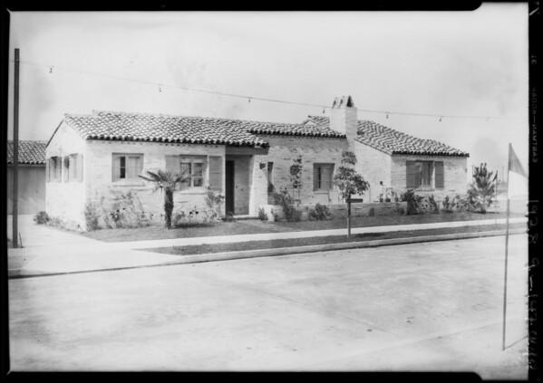Leimert Park homes, Los Angeles, CA, 1928
