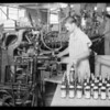Ginger ale bottling machine, Southern California, 1931