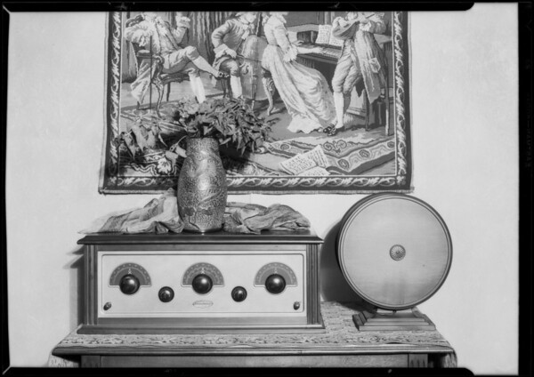 Stewart Warner radio, Southern California, 1927