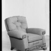 Furniture for circular, Southern California, 1934