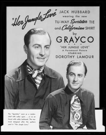 Grayco display cards, Southern California, 1938