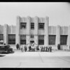 Exterior of building, Fluor Battery Co., Southern California, 1933