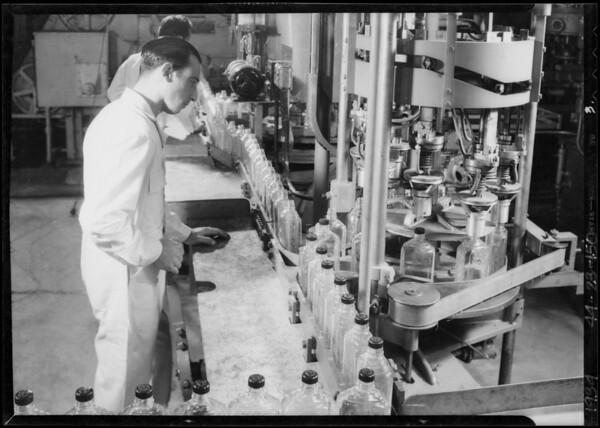 Plant equipment, Southern California, 1934